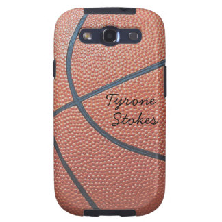 Team Spirit_Basketball texture_Autograph Style Galaxy SIII Cases