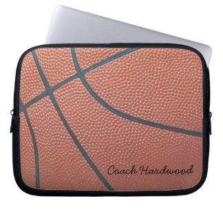 Team Spirit_Basketball Texture_Autograph Style Computer Sleeve