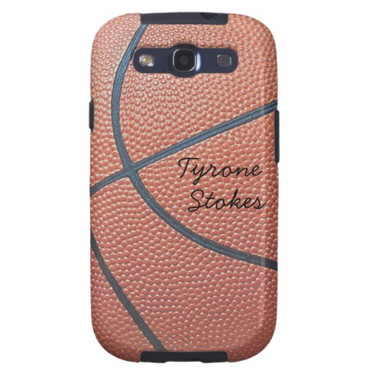 Team Spirit_Basketball texture_Autograph Style Galaxy SIII Case