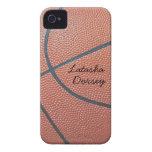 Team Spirit_Basketball texture_Autograph-Style iPhone 4 Case-Mate Case
