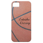 Team Spirit_Basketball texture_Autograph-Style iPhone SE/5/5s Case