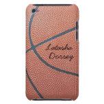 Team Spirit_Basketball texture_Autograph Style iPod Case-Mate Case