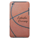 Team Spirit_Basketball texture_Autograph Style iPod Touch Case-Mate Case