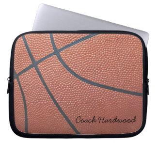 Team Spirit_Basketball Texture_Autograph Style Laptop Sleeves