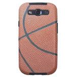 Team Spirit_Basketball texture_Hoops Lovers Samsung Galaxy SIII Case