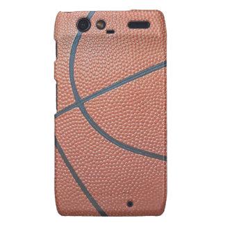 Team Spirit_Basketball texture_Hoops Lovers Droid RAZR Cover