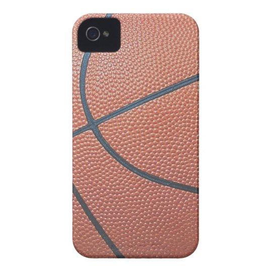 Team Spirit_Basketball texture_Hoops Lovers iPhone 4 Case-Mate Case