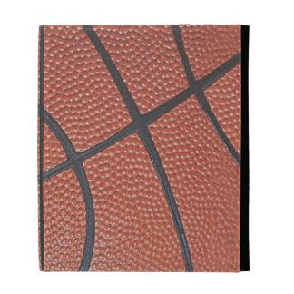 Team Spirit_Basketball texture look_AutographReady iPad Folio Cases