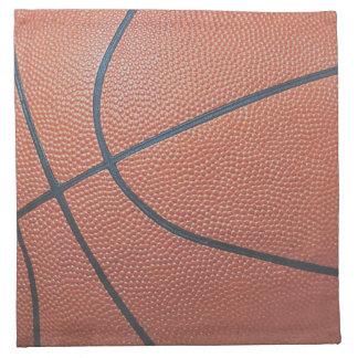 Team Spirit_Basketball texture look_Having a Ball! Napkin