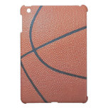 Team Spirit_Basketball texture look_Hoops Lover iPad Mini Covers