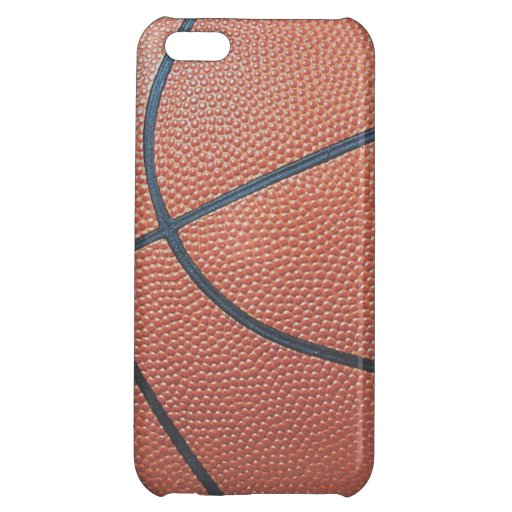 Team Spirit_Basketball texture look_Hoops Lover iPhone 5C Case