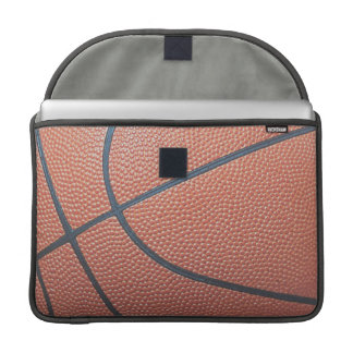 Team Spirit_Basketball texture look_Hoops Lover MacBook Pro Sleeve