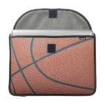Team Spirit_Basketball texture look_Hoops Lover Sleeves For MacBooks