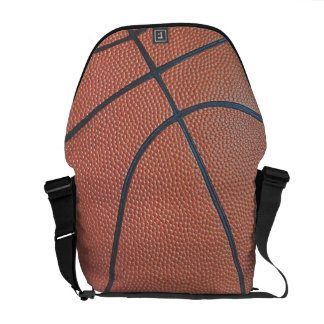 Team Spirit_Basketball texture look_Hoops Lover Courier Bags
