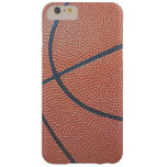 Team Spirit_Basketball texture look_Hoops Lovers Barely There iPhone 6 Plus Case
