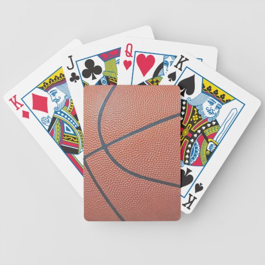 Team Spirit_Basketball texture look_Hoops Lovers Bicycle Playing Cards