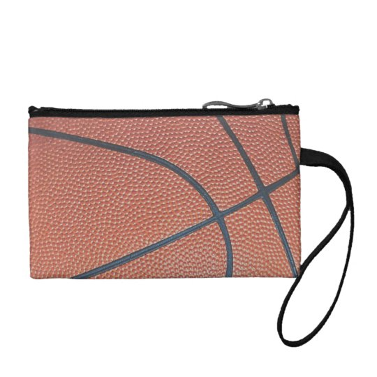 Team Spirit_Basketball texture look_Hoops Lovers Coin Wallet