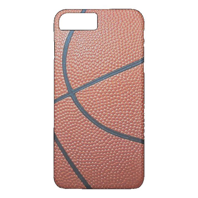 Team Spirit_Basketball texture look_Hoops Lovers iPhone 7 Plus Case
