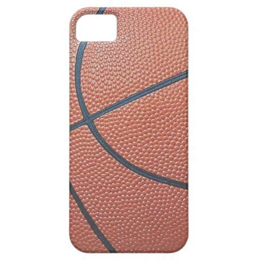 Team Spirit_Basketball texture look_Hoops Lovers iPhone SE/5/5s Case