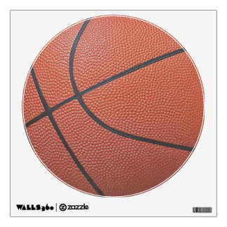 Team Spirit_Basketball texture look_Hoops Lovers Wall Sticker