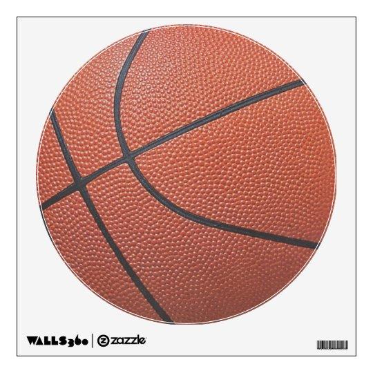 Team Spirit_Basketball texture look_Hoops Lovers Wall Sticker