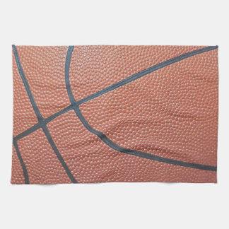 Team Spirit_Basketball texture look Kitchen Towel