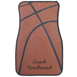 Team Spirit_Basketball texture look_personalized Car Floor Mat