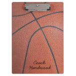 Team Spirit_Basketball texture look_personalized Clipboards