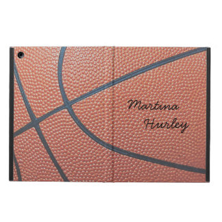 Team Spirit_Basketball texture look_personalized iPad Air Case