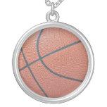 Team Spirit_Basketball texture_necklace pendant