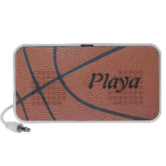 Team Spirit_Basketball texture_Player for Playas iPod Speakers