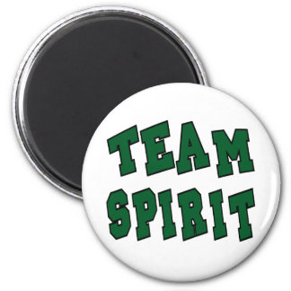 TEAM SPIRIT GREEN MAGNET