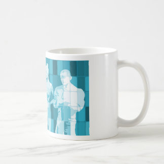Team Spirit On a Mission in Business Concept Coffee Mug