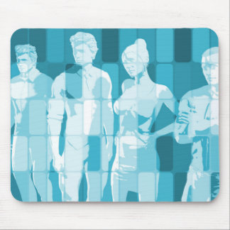 Team Spirit On a Mission in Business Concept Mouse Pad