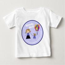 Team Spondy Mom Baby T-Shirt