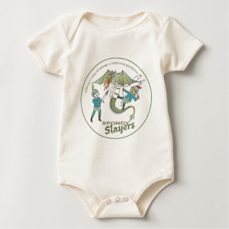 Team Spondy Slayers Baby Bodysuit
