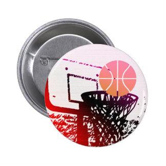 Team Sports Ball Basketball Net Coach Game Buttons