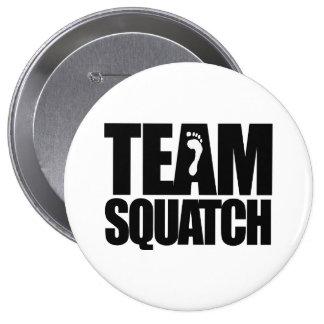 TEAM SQUATCH 4 INCH ROUND BUTTON