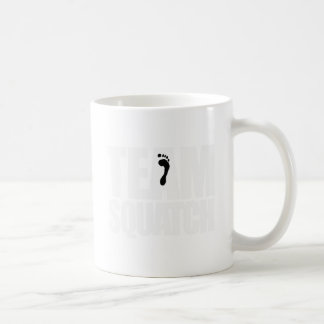 TEAM SQUATCH - CLASSIC WHITE COFFEE MUG