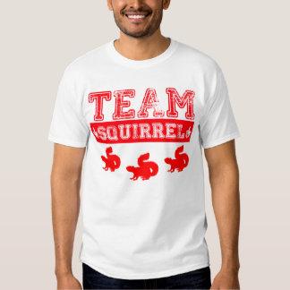 Team Squirrel T shirt