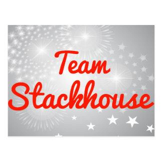 Team Stackhouse Postcard