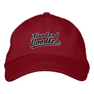 Team Standard Poodle Embroidered Baseball Caps