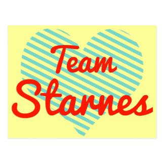 Team Starnes Postcard