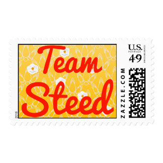 Team Steed Postage Stamps