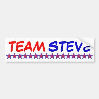 Team Steve Bumper Stickers