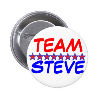 Team Steve Pinback Button