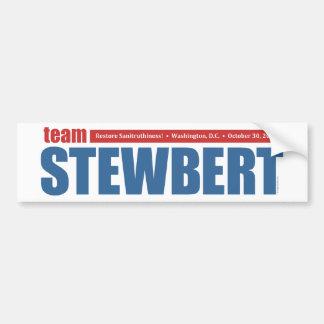 Team Stewbert - Bumper Sticker Car Bumper Sticker