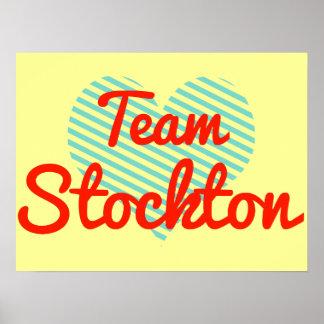 Team Stockton Posters