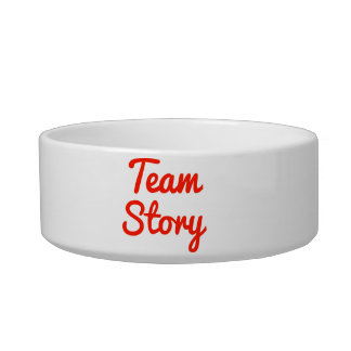 Team Story Pet Water Bowls