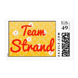 Team Strand Stamp